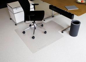 Bodenschutzmatte für Büro-Drehstuhl