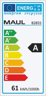 Energieeffizienzklassen Kennzeichnung
