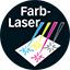 Farblaser-Druckverfahren-Logo