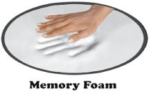 Memory Foam Handabdruck