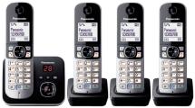 Schnurlostelefon-Set von Panasonic mit 4 Mobilteilen