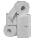 Toilettenpapier weiß
