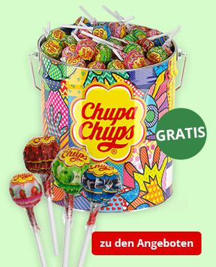 Top Angebote mit gratis Chupa Chups