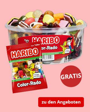 Top Angebote mit gratis HARIBO Color-Rado