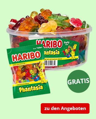 Top Angebote mit gratis HARIBO Phantasia