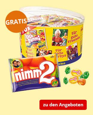 Top Angebote mit gratis STORCK nimm2