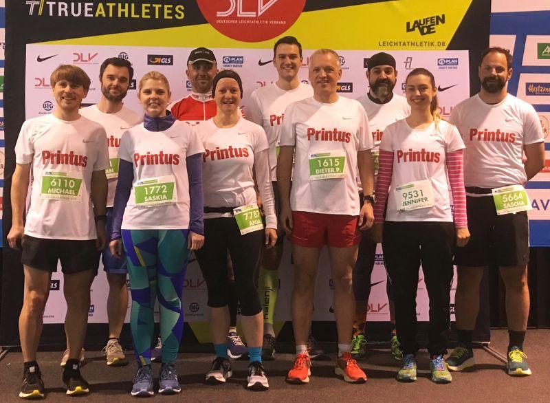Erfolgreiche Läufer beim 16. Freiburg Marathon