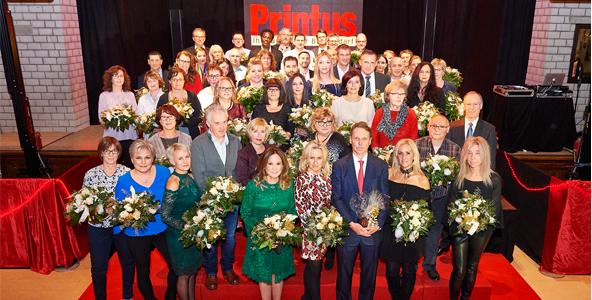 Printus ehrt 95 Jubilare für ihre langjährige Firmentreue